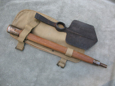 Ww2 British Entrenching Tool Pat. 37 1941 Complete Original