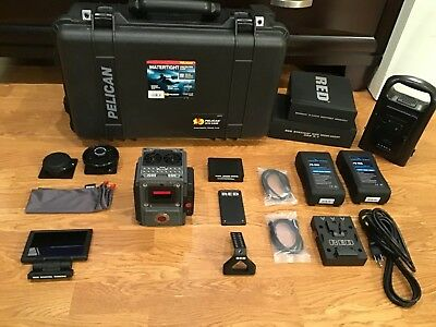 Red Scarlet-W 5K Dsmc2 Huge Kit, Lcd, 512Gb,vmounts Ready To Shoot, Only 17Hrs