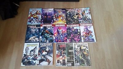 Transformers More than meets Eye 1-10 Complete lot + Last Stand of the Wreckers