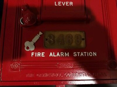 Gamewell Fire Alarm Call Box 1924 style fromDetroit Michigan works