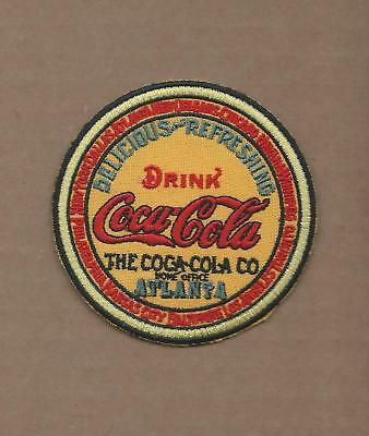 New 3 Inch Coca Cola Vintage Keg Logo Iron On Patch Free Shipping Q3