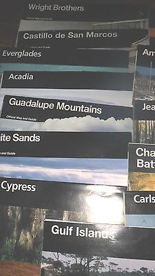 Mixed collection of 13 Travel/historical brochures by the U.S. Nat'l Park Ser