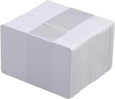 Blank White PVC Plastic ID Cards CR80 - 30mil Pack size 100 - NEW AND SEALED