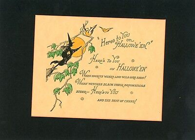 Halloween Vintage Invitation Card