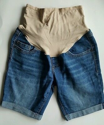 Old Navy Maternity Shorts denim jean size 6 Regular
