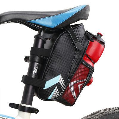 Cycling Bicycle Saddle Bag Pannier MTB Road Bike Seat Bottle Bag Tail Storage