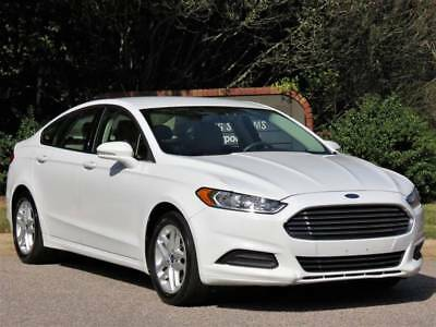 2014 Fusion SE 4dr Sedan White Ford Fusion with 74,000 Miles available now!