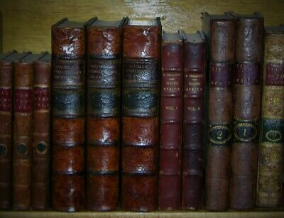 History Of Civilization In England, Henry T. Buckle, 1882, 3 Vols.  Full Leather