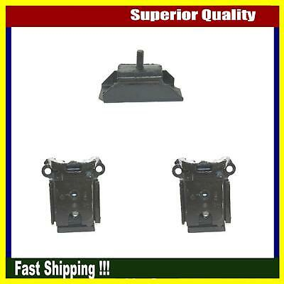 Brand New DEA Engine Motor Mount Set Of 3 Fits 1965-1967 Chevrolet Impala Base
