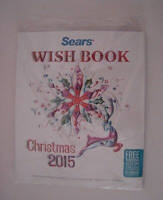 2015 SEARS CANADA CHRISTMAS WISH BOOK  CATALOGUE  ~  Brand New & Sealed