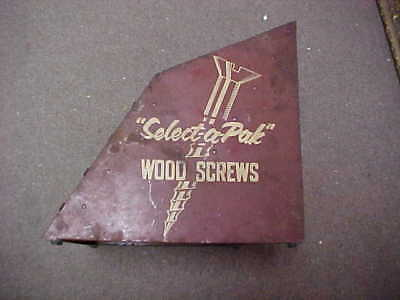 Closed Hardware Store In Tennessee Select-A-Pak Wood Screws Rack 15 Cents A Box