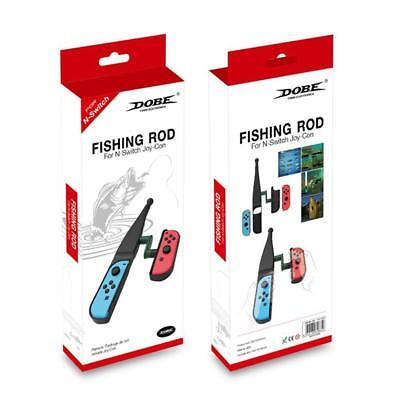 Gamepad Fishing Rod For N-Switch Joy-Con Console Auxiliar Parts Game Accessories