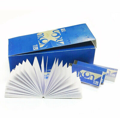 24 Packs of MOON Rice Rolling Paper Tips Filters (50 Sheets per pk) Smoking