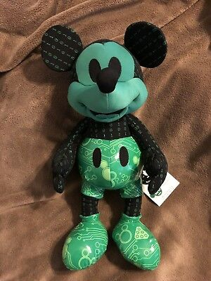 Disney Store Plush Mickey Mouse Memories October Limited Edition 90th Aniversary