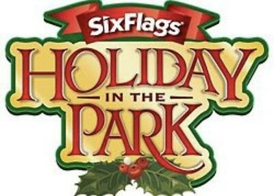 """Six Flags GREAT AMERICA CHICAGO TICKETS PROMO DISCOUNT """"HOLIDAY IN THE PARK"""" $29"""