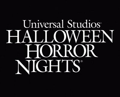 UNIVERSAL STUDIOS HOLLYWOOD or ORLANDO HALLOWEEN HORROR TICKETS PROMO SAVINGS