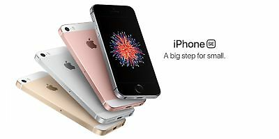 """New *UNOPENDED* Apple iPhone SE 4.0"""" GSM Unlocked Smartphone / Silver / 64GB"""