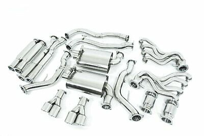 """Holden Commodore VE / VF SS SEDAN & WAGON 3"""" Stainless Exhaust w/1&3/4"""" and HIGH"""