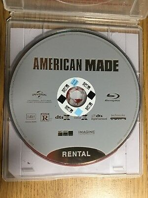 American Made Blu-ray Disc