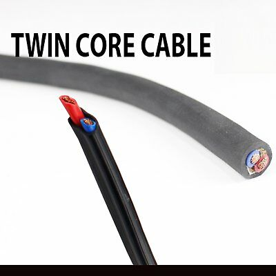 1mm-13mm Electrical Cable Twin Core Wires Copper Sheath Auto Solar Panels (10M)