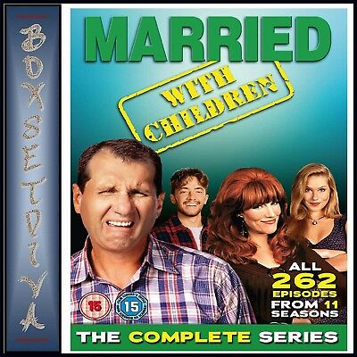 Married With Children Complete Series 1 2 3 4 5 6 7 8 9 10 & 11 Brand New Boxset