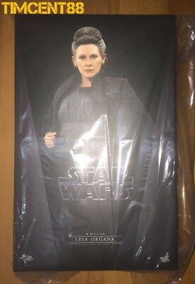 Ready! Hot Toys MMS459 Star Wars The Last Jedi Leia Organa 1/6 Carrie Fisher New
