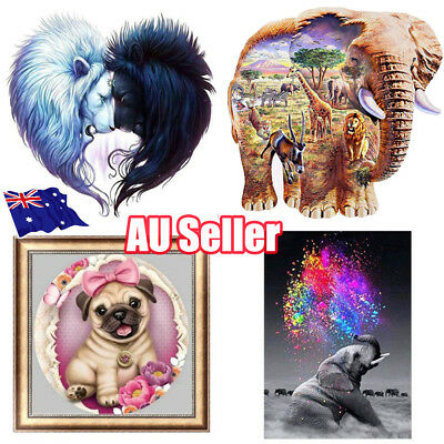 5D Diamond Painting Embroidery Cross Stitch Pictures Arts Craft Kit Decor BO