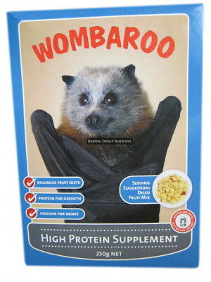 High Protein Supplement 215g Wombaroo possum glider flying fox protein ANC-531