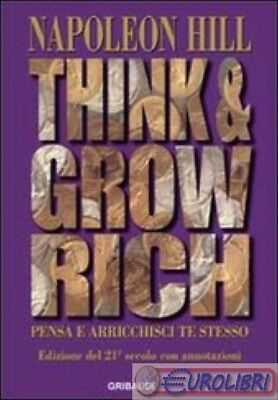9788863660746 Hill Think And Grow Rich Gribaudi