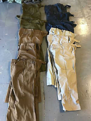 Job lot of 12 x pairs of British army  / military surplus trousers
