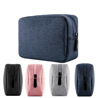 Portable Travel Digital Cable Earphones Cosmetic Storage Bag Organizer Pouch F