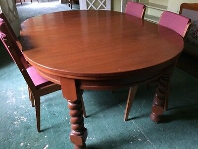 Antique dining table, extendable