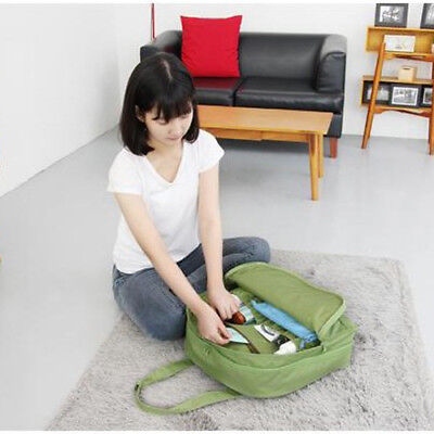 Waterproof nylon Travel Bag Clothes Organizer Pouch Storage Suitcase Luggage Bag