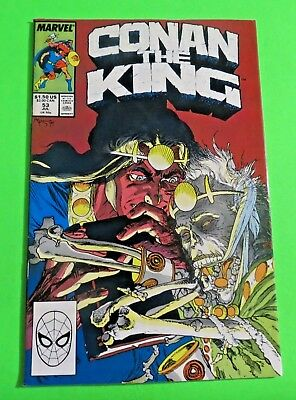 Conan the King #53 Marvel Comics Copper Age (1989) C2552