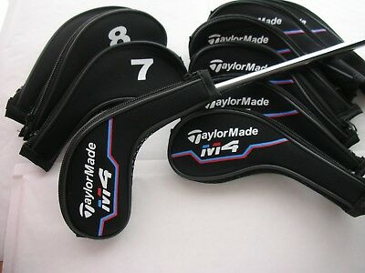 11 X Taylormade M4 Long Zip Iron Covers For Complete Protection