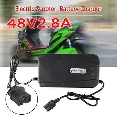 48V 20AH US Plug Lead Acid Battery Charger For Electric Bike Scooters Useful RT@