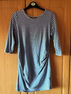 New Look Maternity Long Line Top Size 12