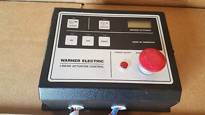 Warner Electric MCS-2051 Linear Actuator Control