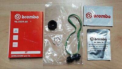 Brembo Clutch Master Cylinder Seal Kit, Piston, Overhaul, Rebuild, 61041991A