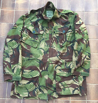 Genuine British Army DPM Vintage Temperate Jacket, Size 2XL