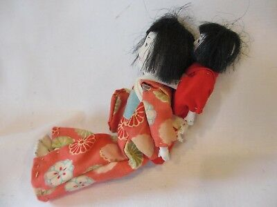 Vintage Antique Chinese Japanese Asian Composition Dolls