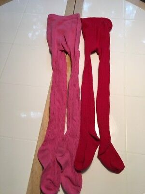 Girls Winter Tights Size 4-7 (2)