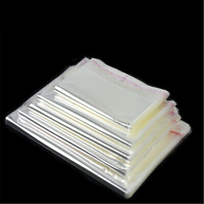 OPP bag transparent plastic garment bags Storage bag stickers self-adhesive bags