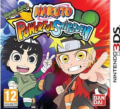 NARUTO POWERFUL SHIPPUDEN Nintendo 3DS Video Game 3 DS Brand New UK Rele Sealed