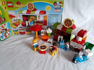 Lego 10834 Duplo Town Pizzeria Learning Toy 3564 Picclick Uk
