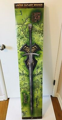 New Witch-King Sword United Cutlery UC1266 Lord of the Rings Witchking