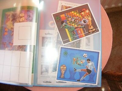 Two (2) Libya  Mini Sheets Of 1982 World Cup In Spain     (1)