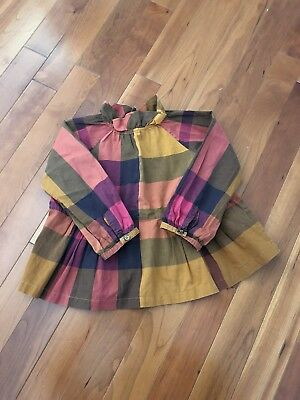 Baby Girl Burberry Long Sleeve Top 18month $155retailed