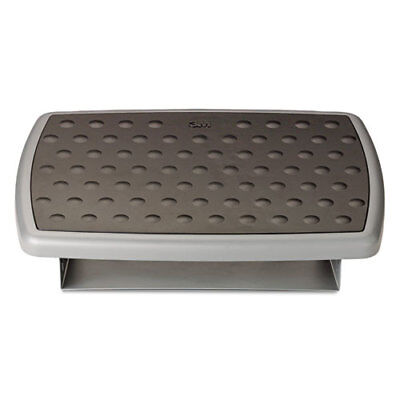 "3M Adjustable Foot Rest, Charcoal Gray (13"" x 18"" x 4"")"
