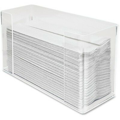 "C-Fold/Multifold Towel Dispenser,11-1/2""4-1/8""x6-3/4"",Clear KTKAH190"